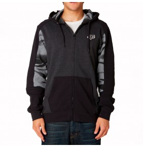 Sudadera Fox Vicious Zip Fleece Black