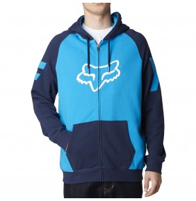 Sudadera Fox Heighten Zip Fleece Blue