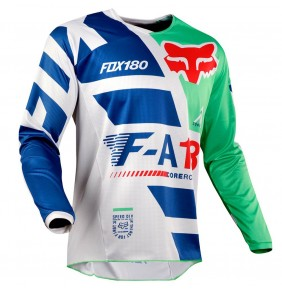 Camiseta Niño FOX 180 Sayak Green 2018