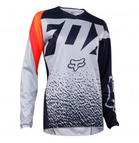 Camiseta FOX Womens 180 Grey Orange 2018