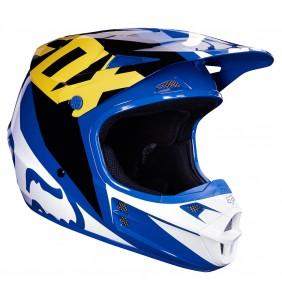 Casco Niño FOX V1 Race Blue