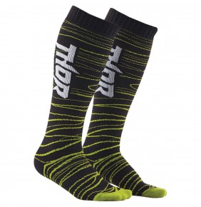 Calcetines Largos Thor Mx Long Black / Green