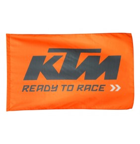 Bandera KTM Flag Ready To Race