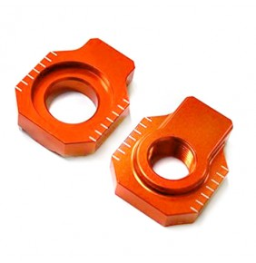 Tensores de eje trasero V Parts KTM Naranjas