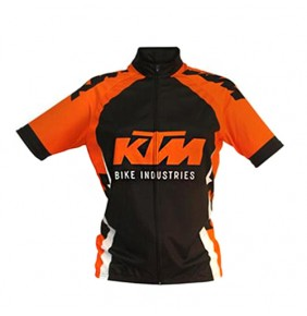 Maillot de Niño KTM Factory Line Black / Orange