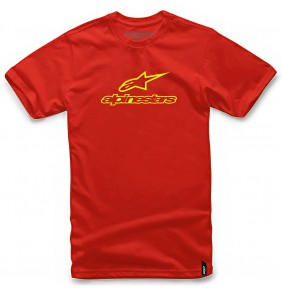 Camiseta Alpinestars Always Red / Yellow