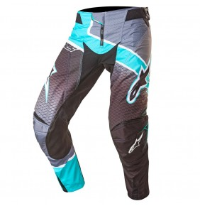Pantalón Alpinestars Techstar Venom Black Dark Gray Teal 2017