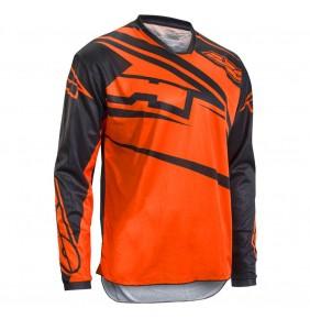 Camiseta Axo SR Jersey Black Orange