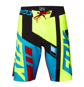 Bañador Fox Divizon Boardshort Red Yellow Fluo Blue