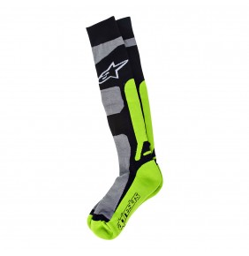 Calcetines Alpinestars Tech Coolmax Gray Black Green
