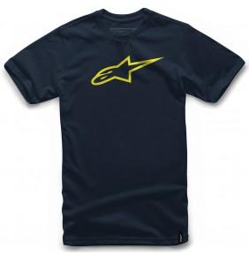 Camiseta Alpinestars Ageless Classic Navy / Yellow