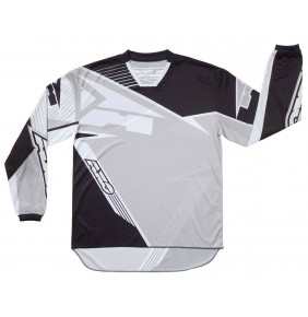 Camiseta Axo SR Jersey Black Grey