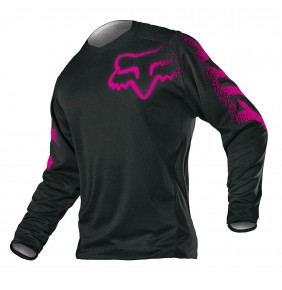 Camiseta FOX Womens Blackout Black / Pink