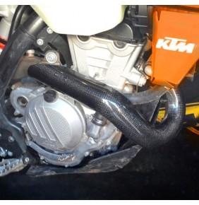 Protector Colector Carbono Racing KTM EXC-F 350 17 Husqvarna FE 350 17