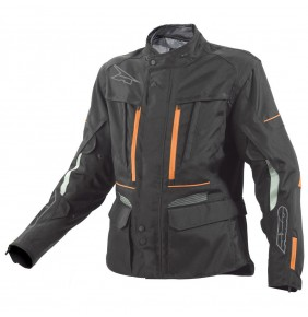 Cazadora Axo Kalahari Jacket Black Orange