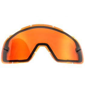 Cristal Doble FOX AIRSPC Orange
