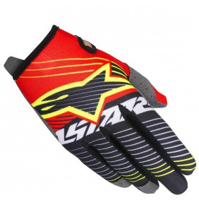 Guantes Alpinestars Radar Tracker Red White Black 2017