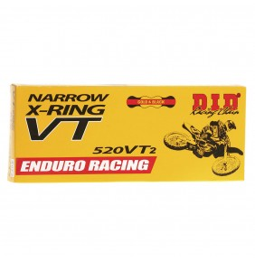 Cadena D.I.D. Narrow X-Ring 520 VT2 Enduro Racing