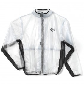 Chaqueta de Lluvia FOX MX Fluid Clear / Black
