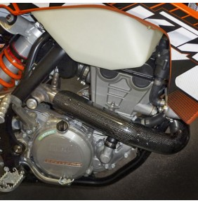 Protector Colector Carbono Racing KTM Husaberg