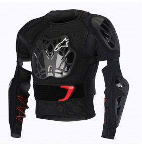 Peto Integral Alpinestars Bionic Tech Black White Red