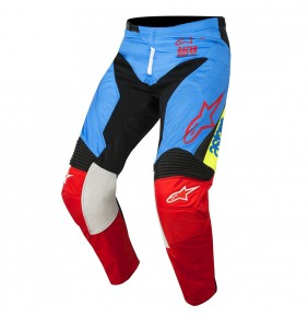 Pantalón Niño Alpinestars Racer Supermatic Aqua Black Red 2018