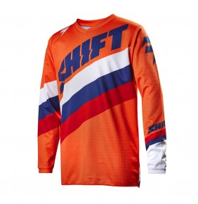 Camiseta Niño Shift WHIT3 Tarmac Orange