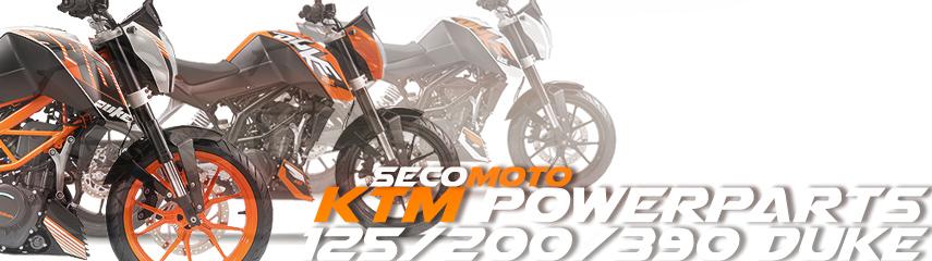 KTM 125/200/390 DUKE