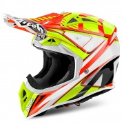 Casco Airoh Aviator 2.2 Double Orange Gloss