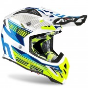 Casco Airoh Aviator 2.3 AMS² Novak Chrome Blue 2020