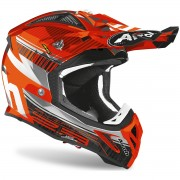 Casco Airoh Aviator 2.3 AMS² Novak Chrome Orange 2020