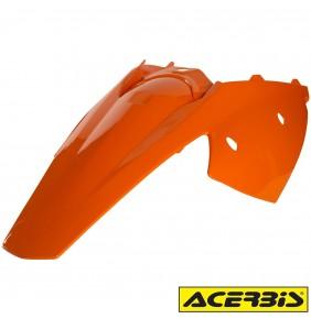 Guardabarros Trasero Acerbis KTM EXC / EXC-F 2004-2007 Naranja