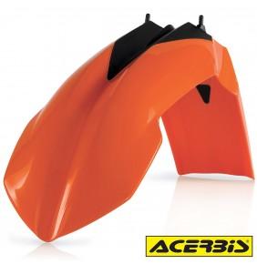 Guardabarros Delantero Acerbis KTM EXC 2008-2013 / SX 2007-2012 Naranja