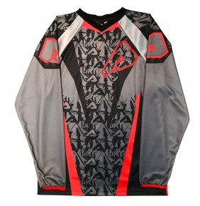 Camiseta Niño Acerbis Impact Junior Grey / Red