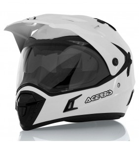 Casco Acerbis Active White