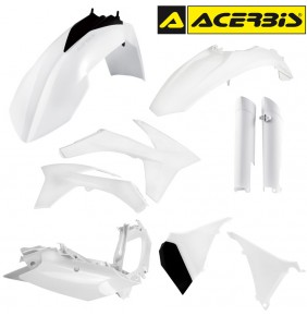 Full Kit de Plásticos Acerbis KTM EXC 2012-2013 Blanco