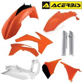 Full Kit de Plásticos Acerbis KTM EXC 2012-2013 Réplica
