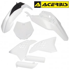 Full Kit de Plásticos Acerbis KTM 65 SX 2012-2015 Blanco