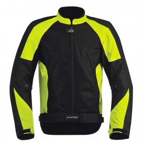 Cazadora Acerbis Ramsey My Vented Jacket Black Yellow