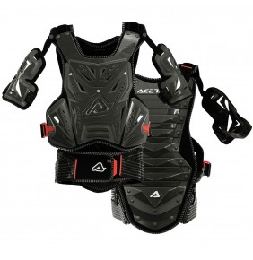 Peto Acerbis Cosmo MX 2.0 Grey / Red