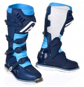Botas Acerbis X-Pro V Navy Blue / Light Blue 2019
