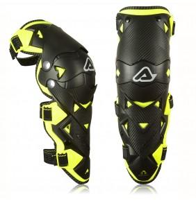 Rodilleras Articuladas Acerbis Impact Evo 3.0 Black / Yellow Fluo
