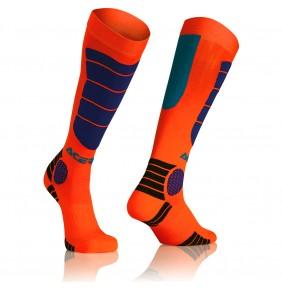 Calcetines Offroad Acerbis Mx Impact Orange / Blue