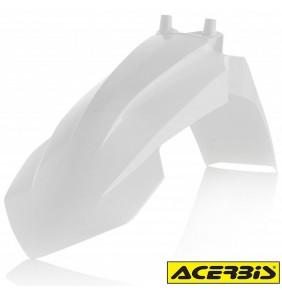 Guardabarros Delantero Acerbis KTM 65 SX 2016-2020 Blanco