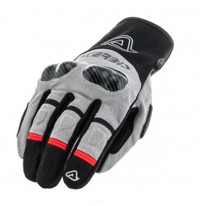 Guantes Acerbis Adventure Black / Grey