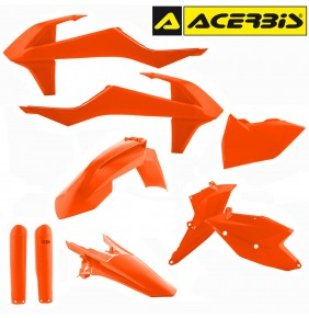 Full Kit de Plásticos Acerbis KTM EXC / EXC-F 2017-2018 Naranja