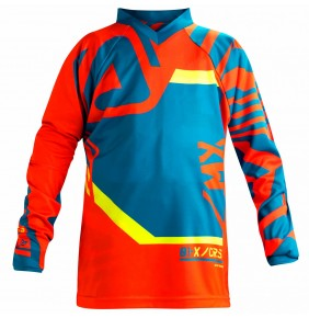 Camiseta Niño Acerbis Fitcross Mx Blue Orange