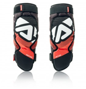 Rodilleras Adulto Acerbis Soft 3.0 Black / Red