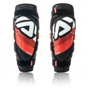 Coderas Adulto Acerbis Soft 3.0 Black / Red