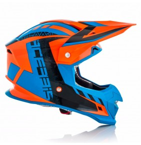 Casco Acerbis Profile 4.0 Orange / Blue 2018